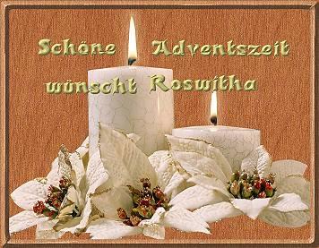 Ich wünsche dir eine schöne Adventszeit