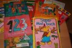 Kinderbücher und Malheftefür Flüchtlinge