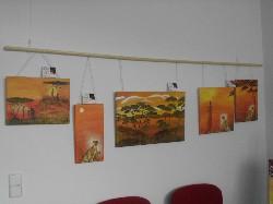 Meine Afrika-Bilder bekommen eine ganze Ausstellungswand für sich