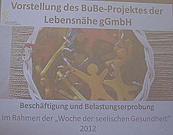 BuBe-Projekt der Lebensnähe gGmbH