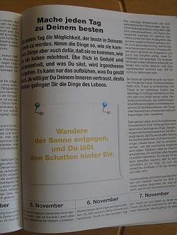 """Seite aus dem Buch """"Heute ist mein bester Tag"""""""