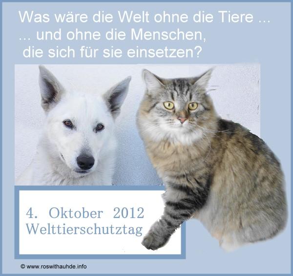 Welttierschutztag 2012