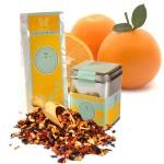 Fruchtig süße Orange mit echtem-Fiji Ingwer
