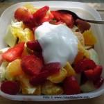 Obstsalat ist lecker und gesund