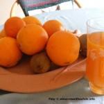 Frische Obstsäfte sind lecker und gesund