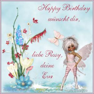 Geburtstagsgeschenk meiner lieben Freundin Eva - Website nicht mehr erreichbar