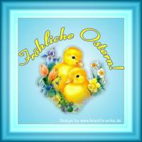 E-Card Fröhliche Ostern