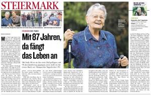 Mit über 90 Jahren ging Margaretha Topperwein 120 km auf dem Jakobsweg.