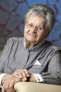 Oma Toppelreiter liest aus ihrem Buch