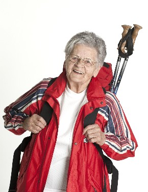 Oma Toppelreiter gibt ihre Begeisterung weiter