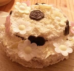 Leckere Creme-Torte