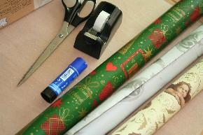 Weihnachten im Schuhkarton 2014 - Material