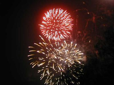 Mit Feuerwerk ins neue Jahr!