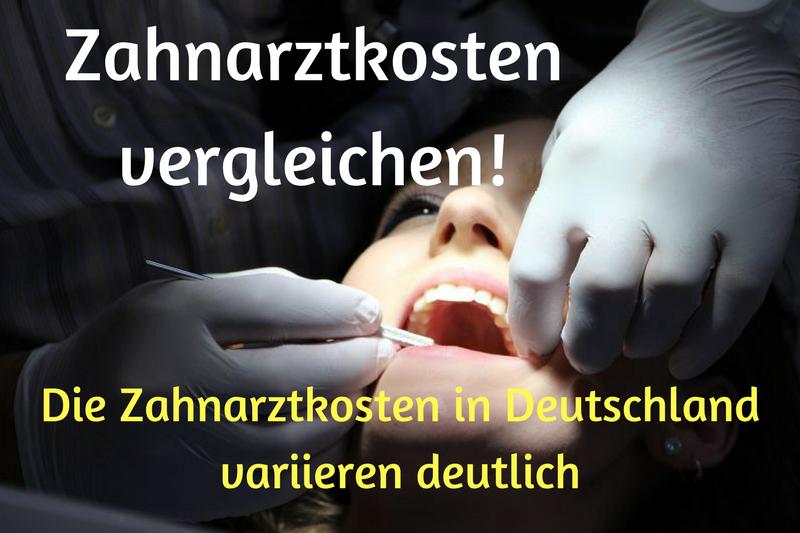 Zahnarztkosten vergleichen